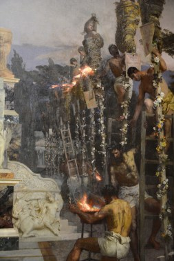 'Nero's Torches' (Detail)