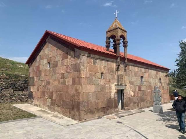 Վրաստանի Ծալկայի շրջանի դարագյուղում հայկական եկեղեցի է վերաբացվել