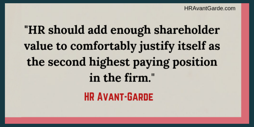 HR Avant-Garde Salary Quote
