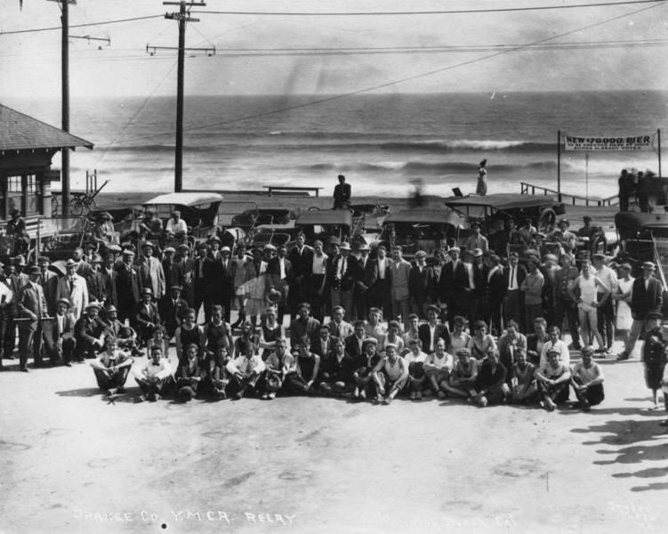 1913 Fundraiser for New Pier