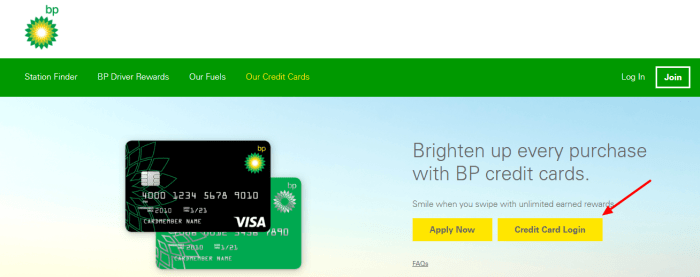 Activate your BP credit card