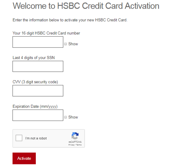 www us hsbc com/credit-cards - Apply And Activate Your HSBC