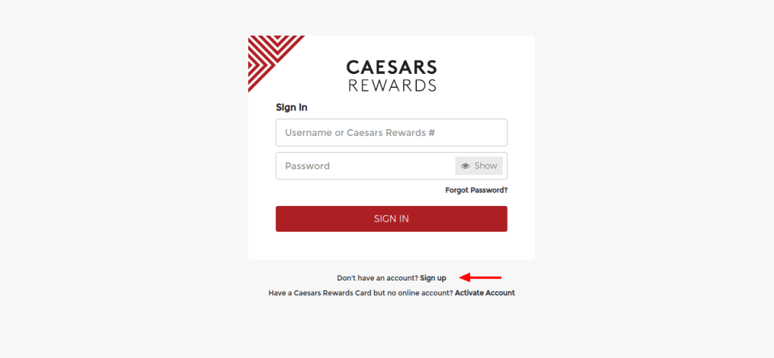 Caesars-Rewards-Sign-up