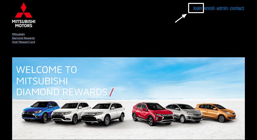 Mitsubishi Diamond Rewards Login