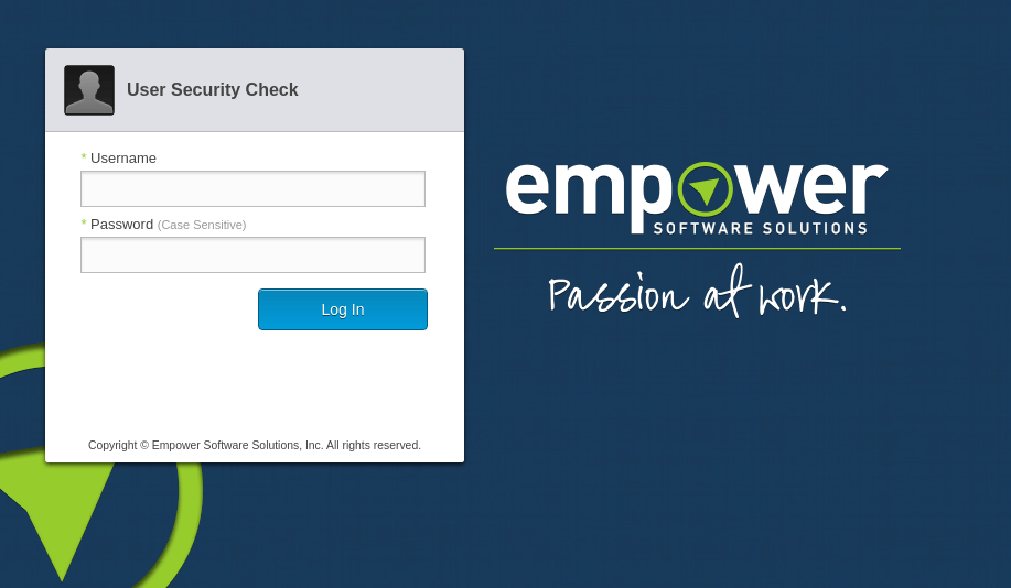Empower UA - Login