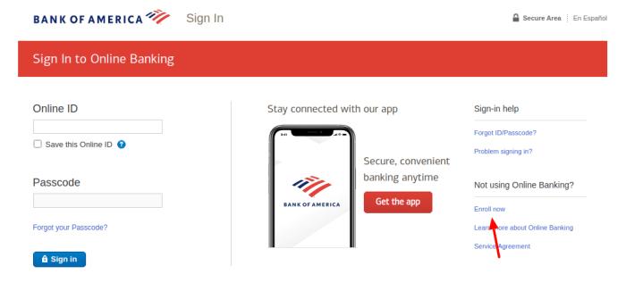 Bank of America Cash Rewards Card Enroll