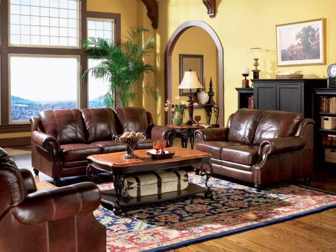 Home Staging Atlanta Style - Earthtone Staged Living Room
