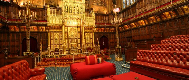 Picture of inside of House of Lords