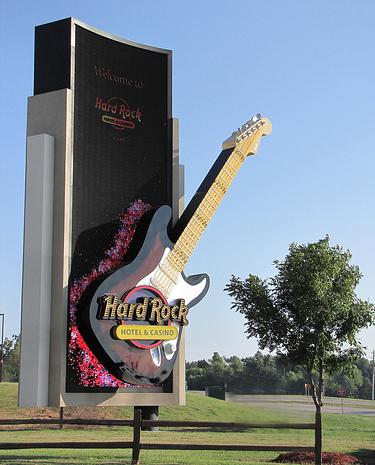 HRH Tulsa entrance sign