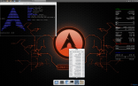 Arch Linux - Cinnamon with conky