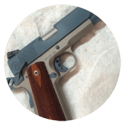 Custom 1911 Built by HRH Combat Arms L.L.C. of Fort Worth and Dallas Texas