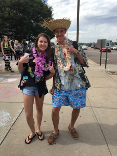 Cydney Jardine, senior and Jack Burrit, senior PhotoCo: Hannah Dyer