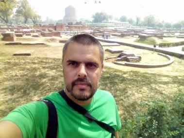 Em Sarnath, Índia