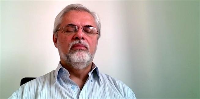 Prática básica de meditação segundo Dr José Ruguê, mestre de Ayurveda e Ioga
