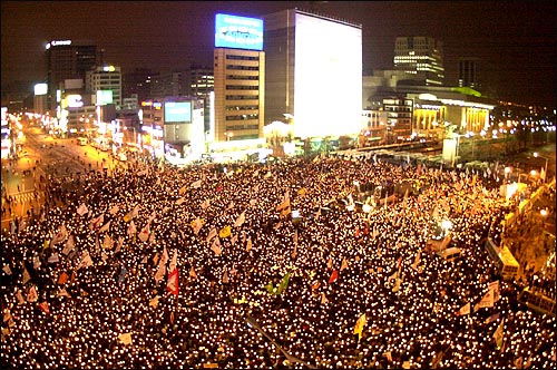 South Korean Protests