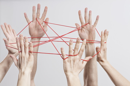 Connection, Team, Teamwork, Relationship, Hands, Cat's Cradle