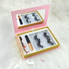 wholesale lashes glitter packaging boxes