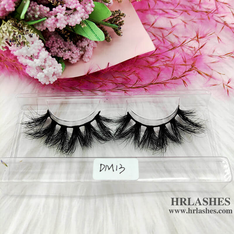 Luxury 20mm 3D mink lashes individuals wholesale