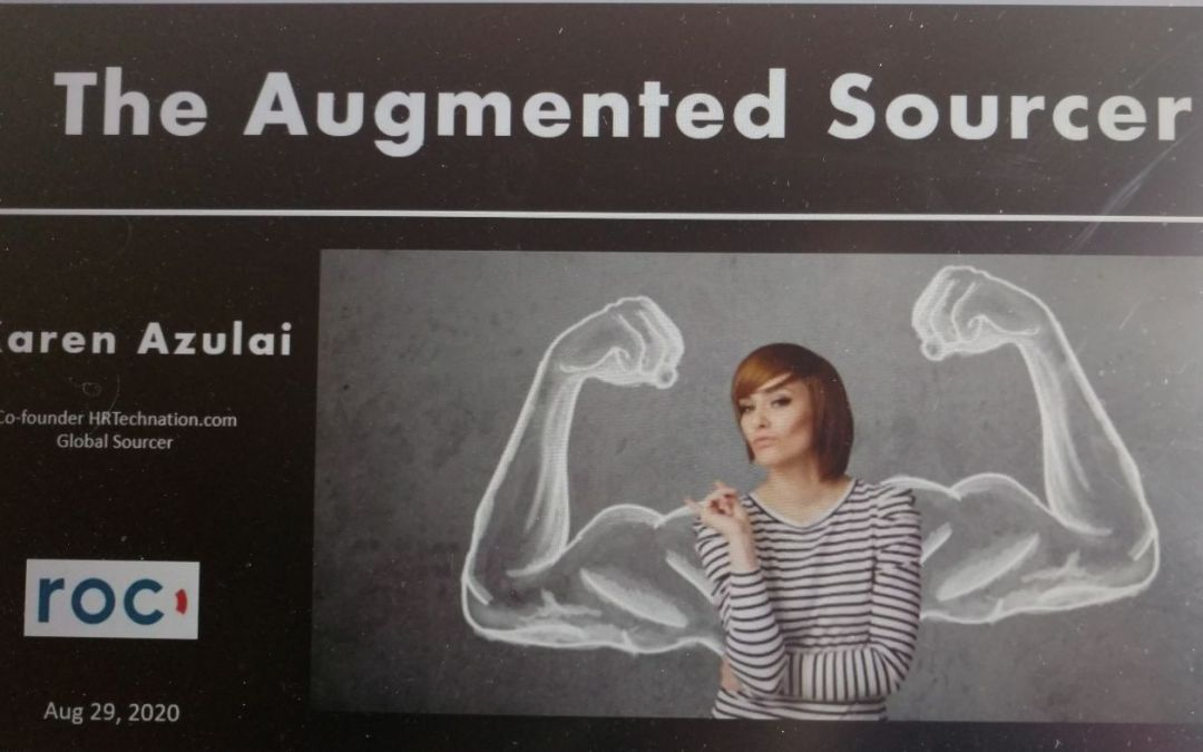 The Augmented Sourcer – Karen Azulai na ROCday Online