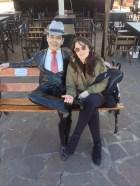 Com Carlos Gardel