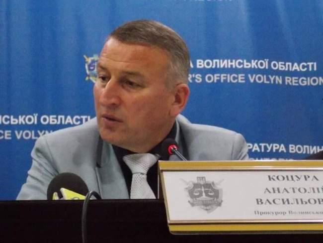 Екс-прокурор Анатолій Коцура