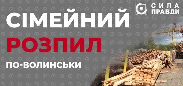Волинський депутат заготовляв деревину для лісгоспу, в якому працював його син