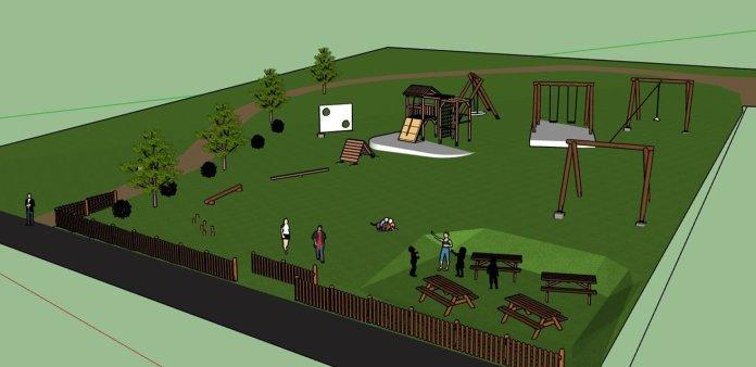 Najmlađi Travničani dobijaju novo igralište  u dvorištu obdaništa Kalibunar