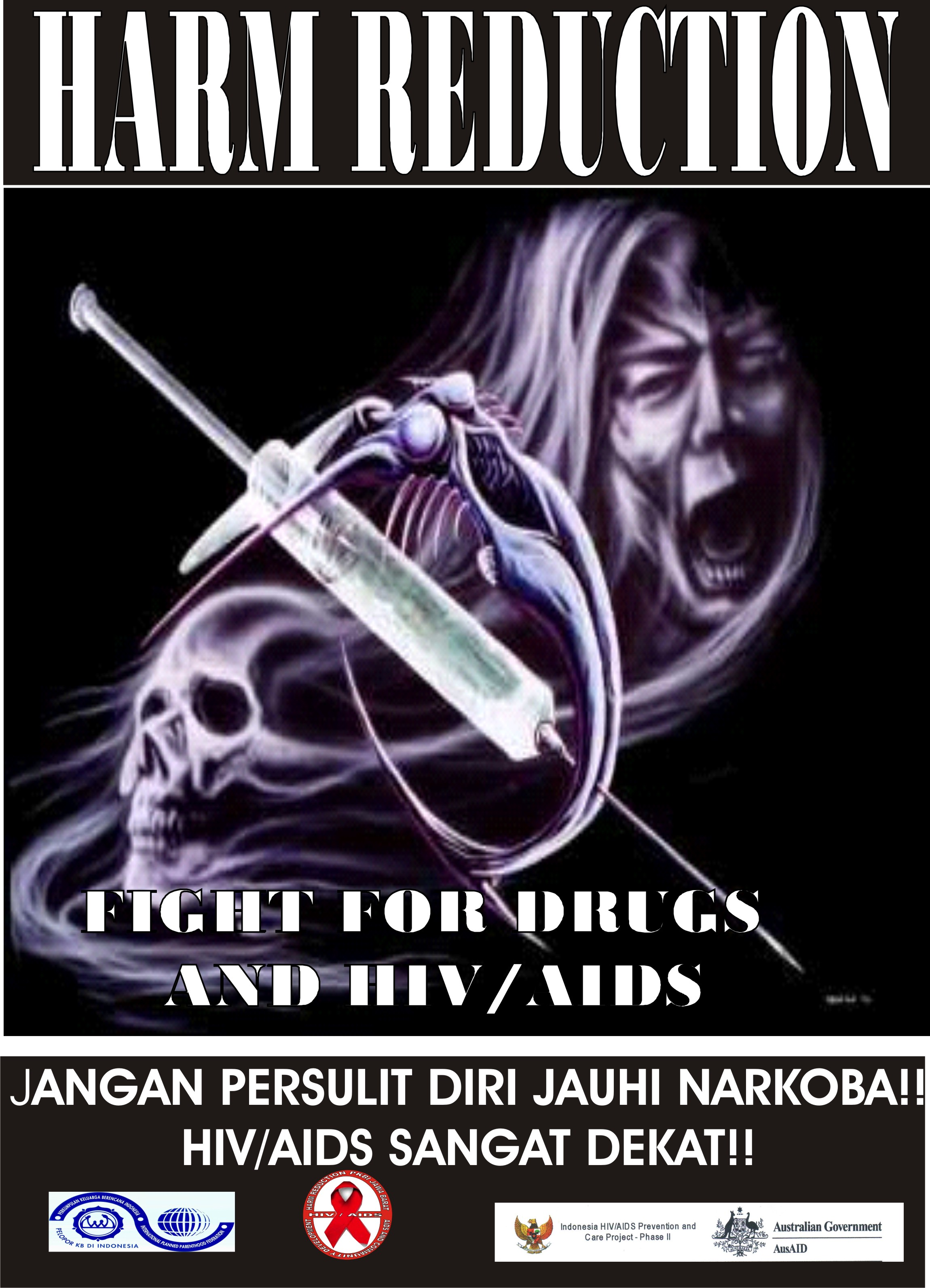 Poster Black Harm Reduction