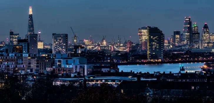 London Skyline. Image credit Davide D'Amico