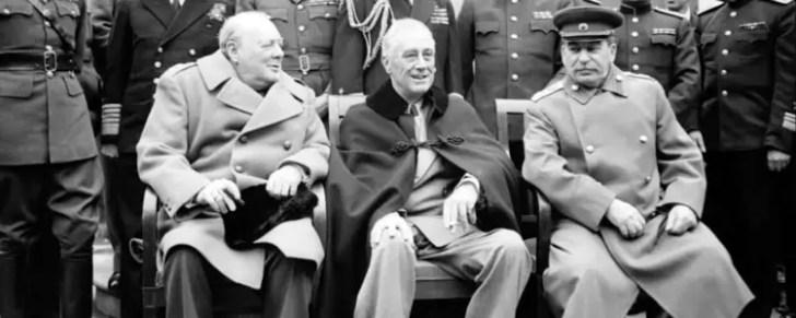 Churchill! Roosevelt! Stalin! The greatest alliance