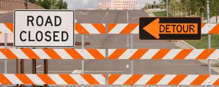 A roadblock to success