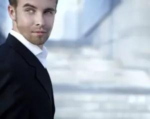 businessman attractive