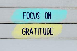 Giving gratitude to people at work