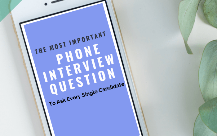 How to conduct a phone interview like a pro