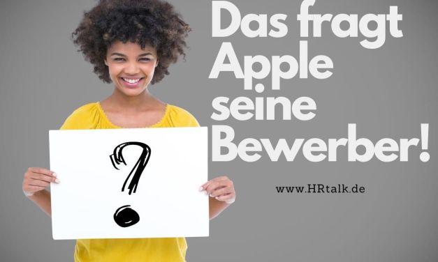 Das Fragt Apple seine Bewerber!