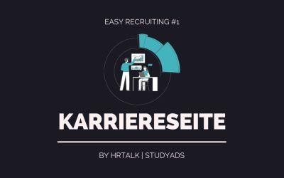 #1 Easy Recruiting: Karriereseite