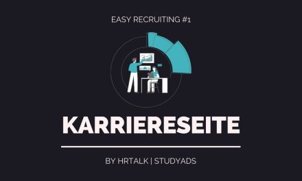 #1 Easy Recruiting: Karriereseite