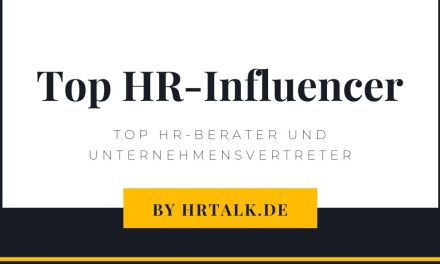 Top HR-Influencer 2020 by Personalmagazin