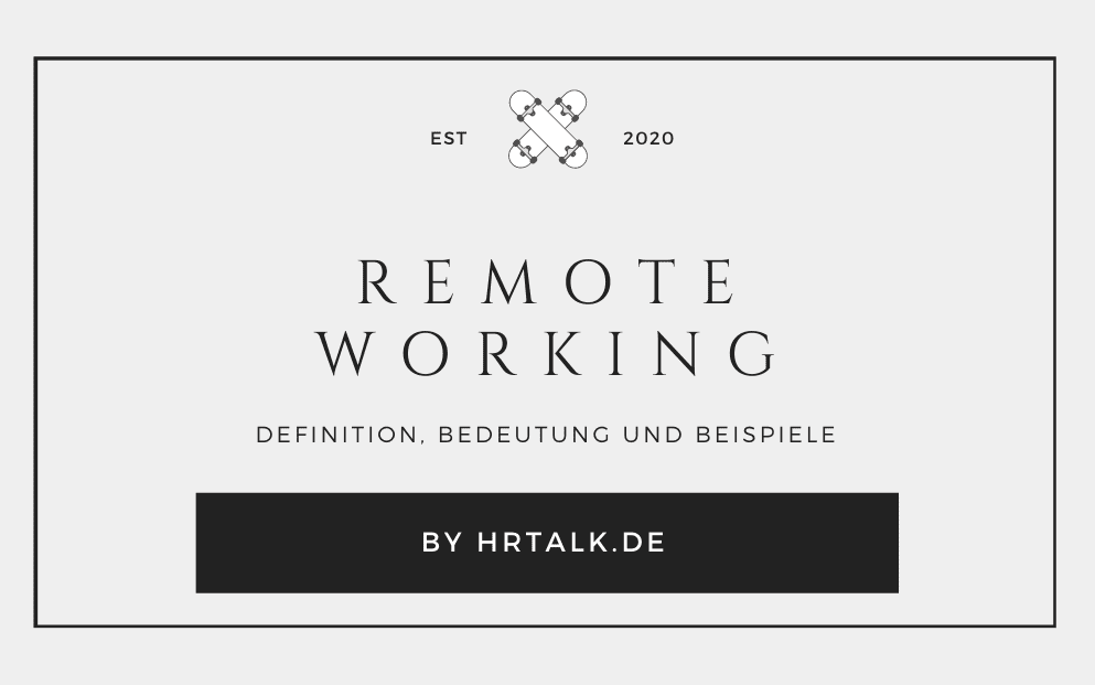Remote Working
