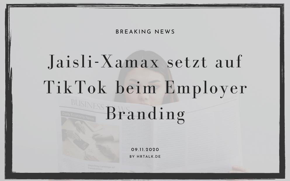 Jaisli-Xamax setzt auf TikTok beim Employer Branding