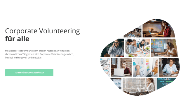 purpozed vereinfacht das Corporate Volunteering
