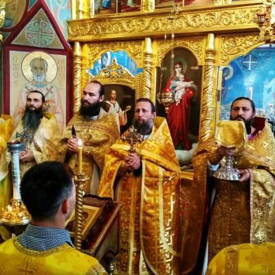 Воскресная литургия 17-го сентября 2017