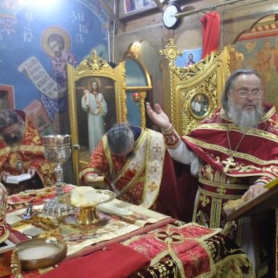 Пасхальное Богослужение в Михайло-Архангельском храме 2019