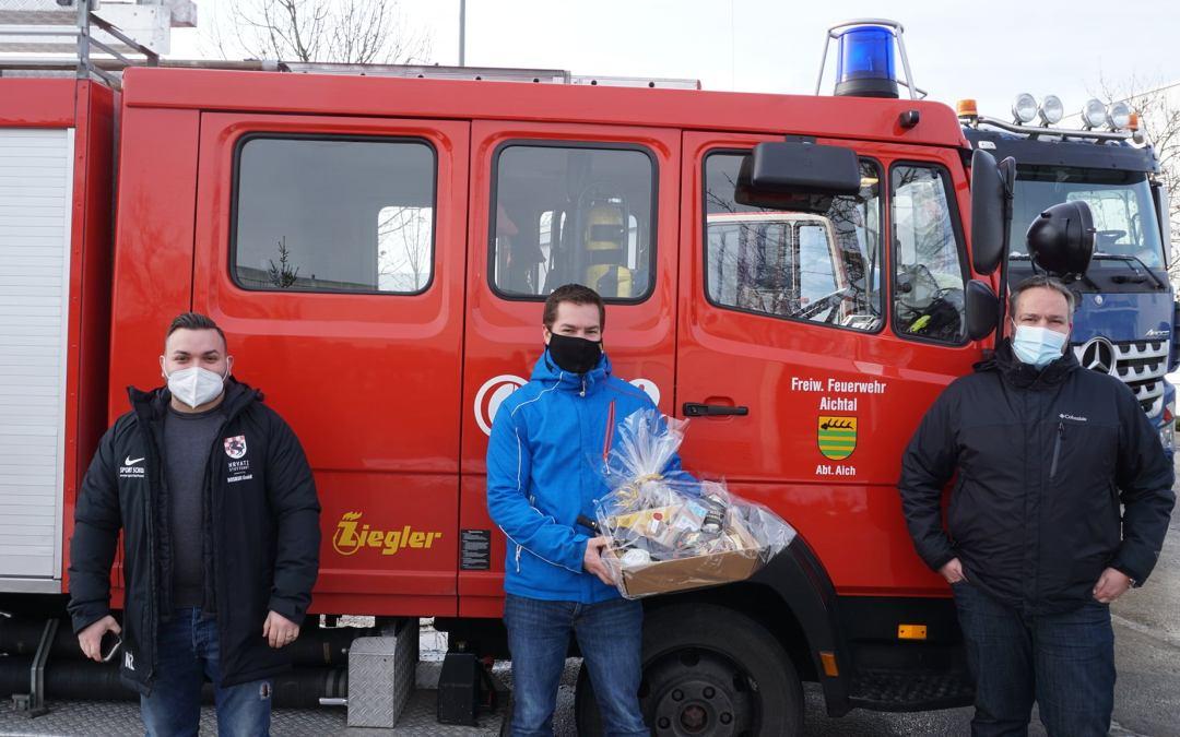 Ein ganz großes Dankeschön an den Bürgermeister der Stadt Aichtal Sebastian Kurz und der Feuerwehr Aichtal.