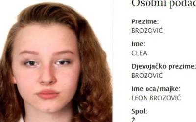 U Frankfurtu nestala 19-godišnja Hrvatica Clea Brozović, obitelj i policija mole za pomoć