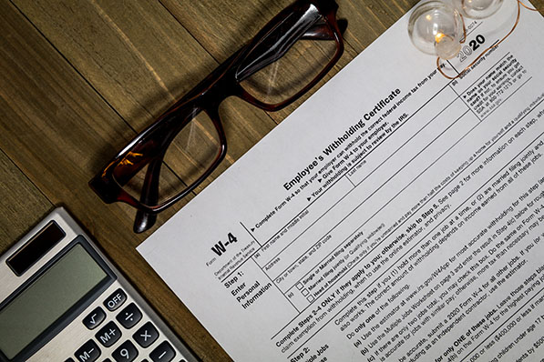 IRS Tax Withholding Form W-4