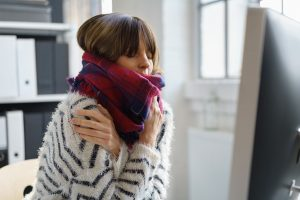 Try to find a compromise with co-workers about office temperatures instead of secretly changing the thermostat.