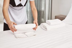 Hotel housekeepers frequently suffer musculoskeletal injuries lifting mattresses, pulling linens and pushing heavy carts — at a rate higher than workers in other industries.