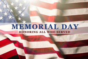 Memorial Day Flag Holiday