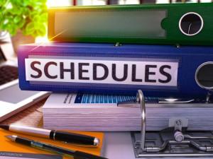 restrictive scheduling